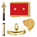 Oak And Brass Army Major General Flag Kit