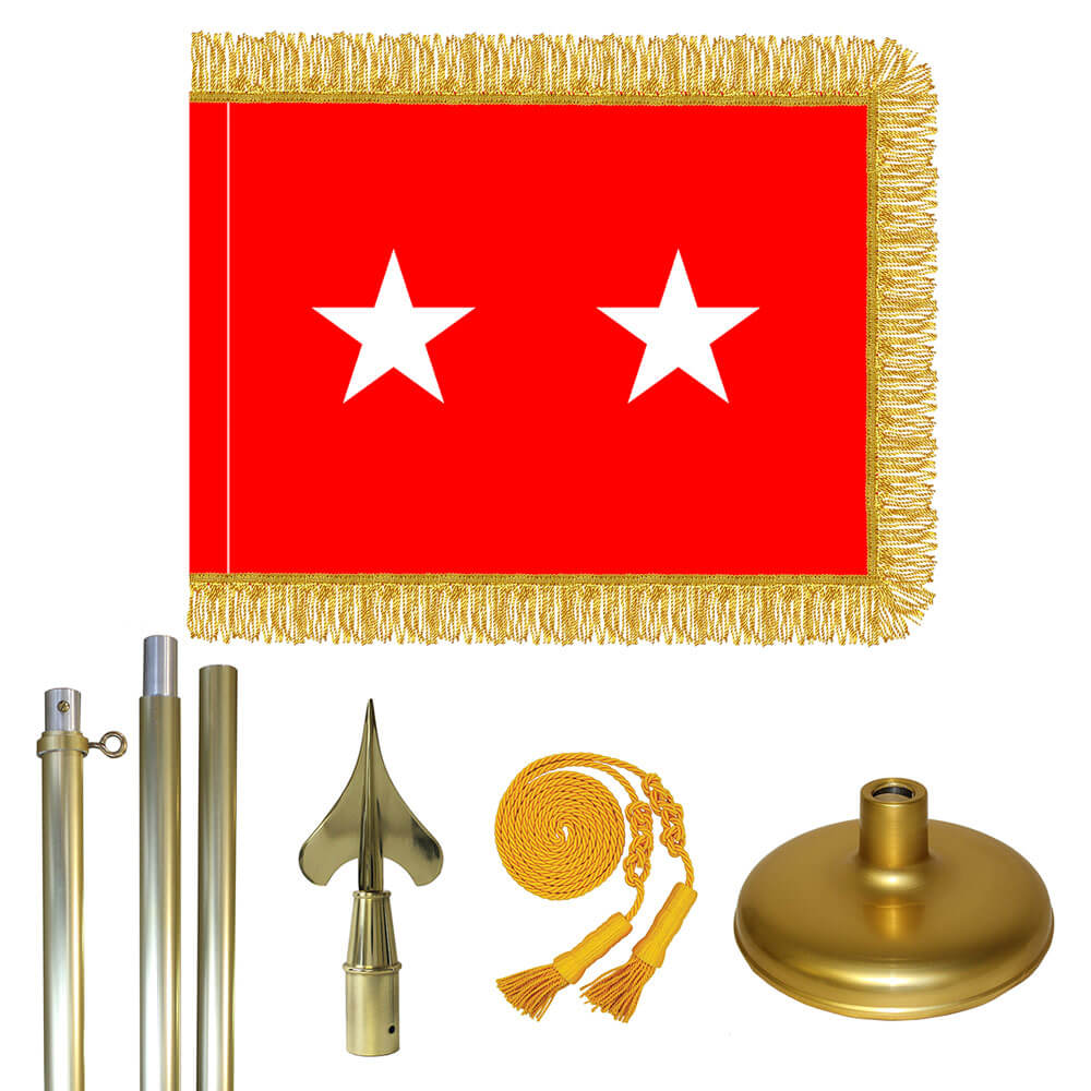 Brass Army Major General Flag Kit, FBPP0000009602