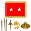 Brass Army Major General Flag Kit