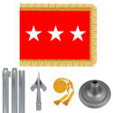 Chrome Army Lt. General Flag Kit
