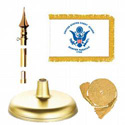 Brass Coast Guard Flag Kit