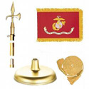Brass Marine Corps Flag Kit