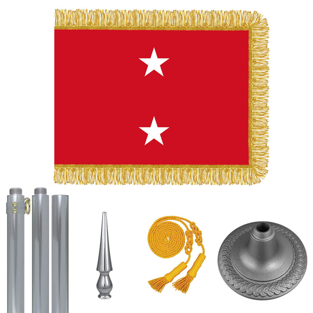 Chrome Marine Corps Major General Flag Kit, FBPP0000010965