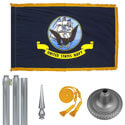 Chrome Navy Flag Kit