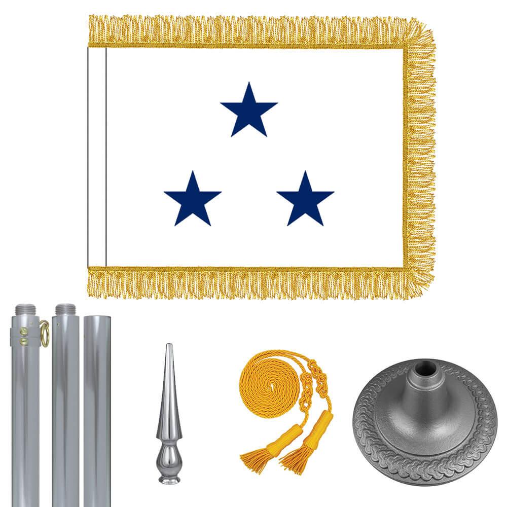 Chrome Navy Not of the Line Vice Admiral Flag Kit, FBPP0000011107