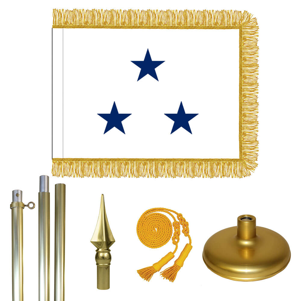 Brass Navy Not of the Line Vice Admiral Flag Kit, FBPP0000011106
