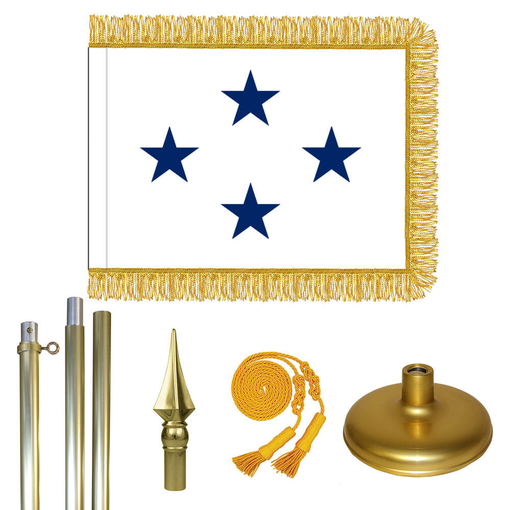 Brass Navy Not of the Line Admiral Flag Kit, FBPP0000011085