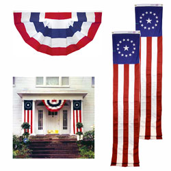 Colonial Star Porch Decorating Kit, FBPP0000013556