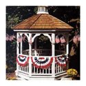 Patriotic Gazebo Decorating Kit, KAPDG