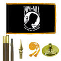 Standard POW Indoor Flag Kit, KAPOWM35S