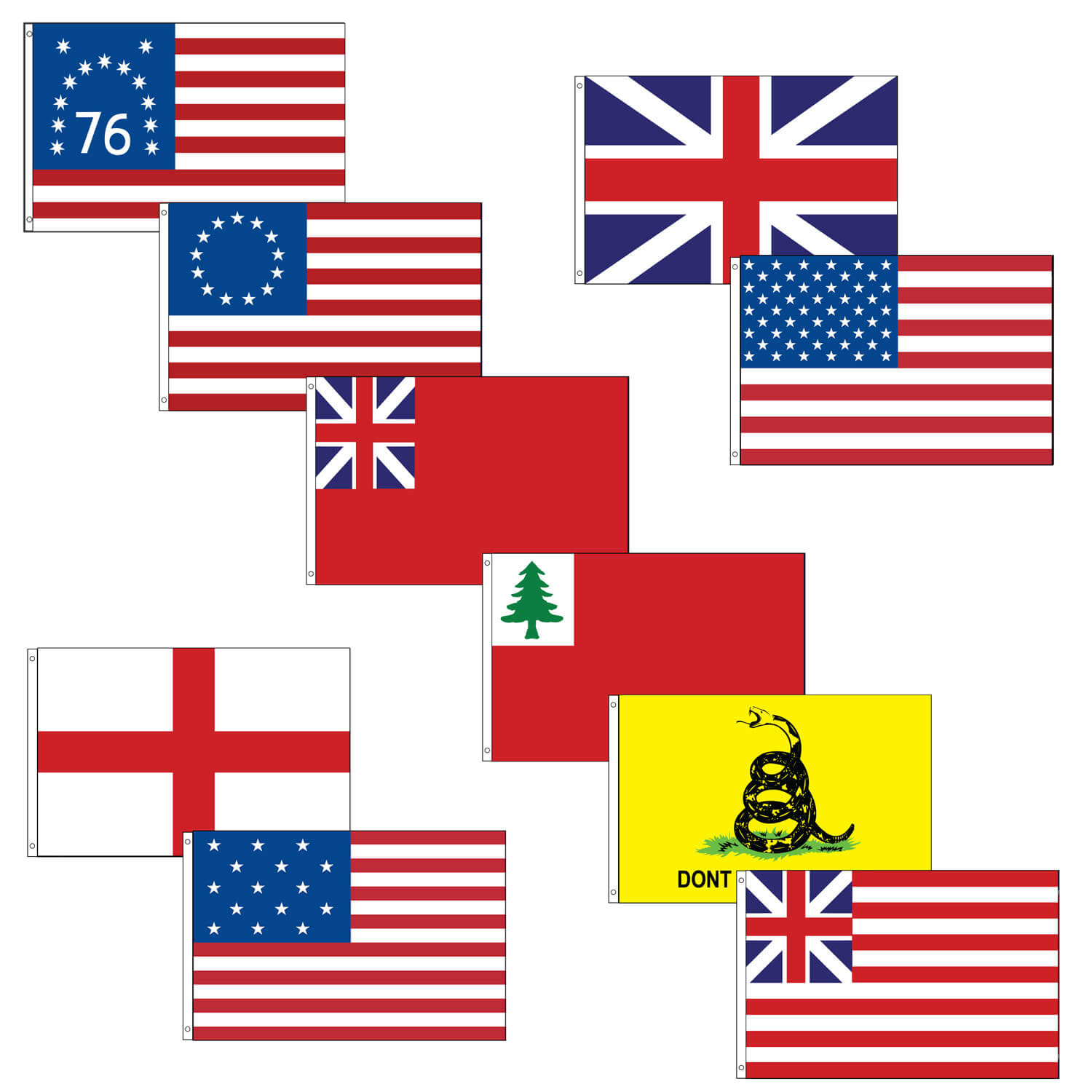 Flags of Our Country complete flag kit, FBPP0000010422
