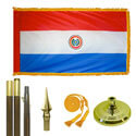 Republic of Paraguay Standard Flag Kit