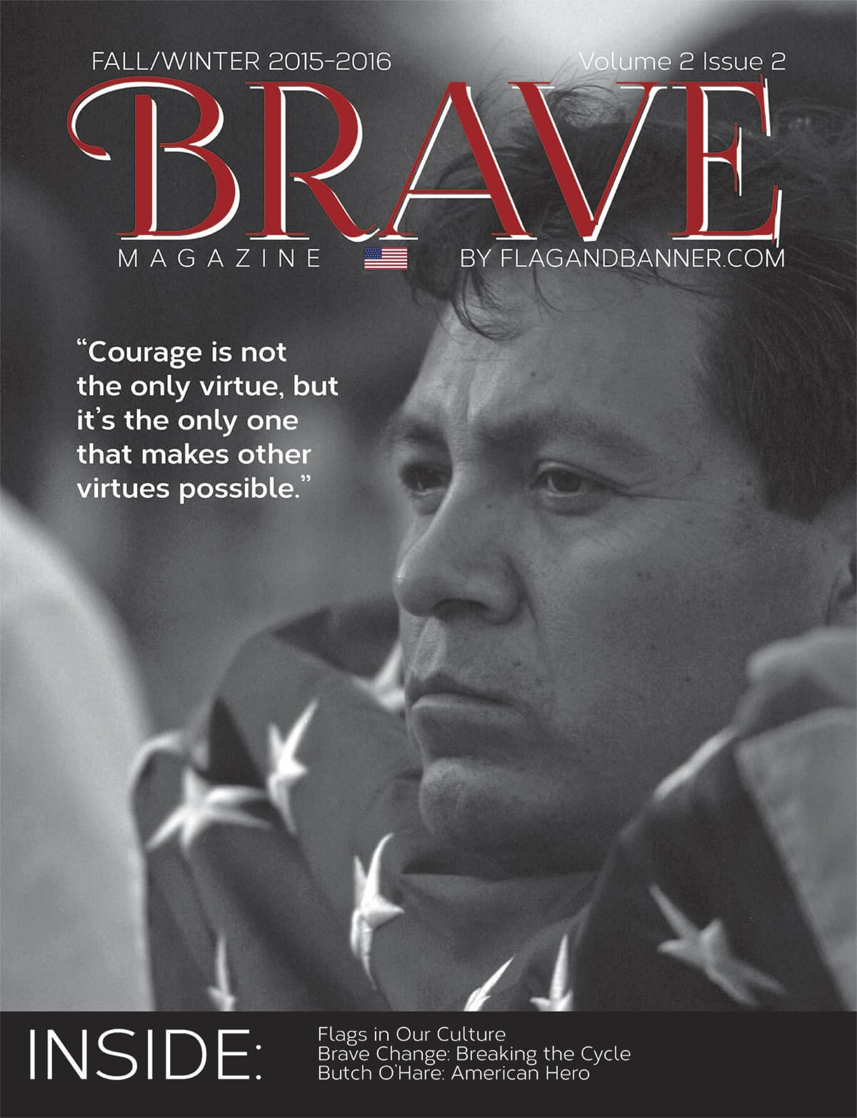 Brave Magazine Fall 2015 Cover
