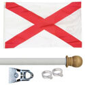 Alabama Standard House Flag Kit, KSAL35HOME