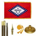 Arkansas Premium Oak & Brass Flag Kit
