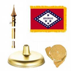Arkansas Brass Aluminum Flag Kit, FBPP0000009541