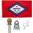 Arkansas Diamond Flag Kit, KSAR35DIAM