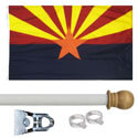 Arizona Standard House Flag Kit, KSAZ35HOME