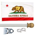 California Standard House Flag Kit, KSCA35HOME
