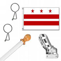 District of Columbia Flag Kit, KSDC35HOME