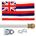 Hawaii Standard House Flag Kit, KSHI35HOME