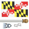 Maryland Standard House Flag Kit, KSMD35HOME