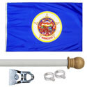 Minnesota House Flag Kit, KSMN35HOME