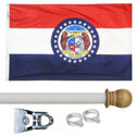 Missouri Standard House Flag Kit, KSMO35HOME
