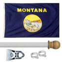 Montana Standard House Flag Kit, KSMT35HOME