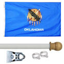 Oklahoma Standard House Flag Kit, KSOK35HOME