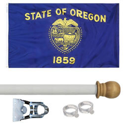 Oregon Standard House Flag Kit, KSOR35HOME