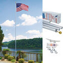 Tapered Ground Set Flagpole in Gift Box