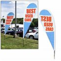 Custom Teardrop Banner Kit