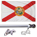 Flordia Tangle Free Flagpole Set