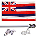 Hawaii Tangle Free Flagpole Set