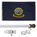 Idaho Tangle Free Flagpole Set