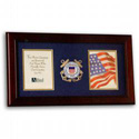 Coast Guard Photo Frame for Two Photos, LKS75CG3