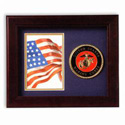 Marine Corps Photo Frame, LKS75MAR2