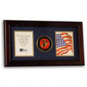 Marine Corps Frame for Two Photographs, LKS75MAR3
