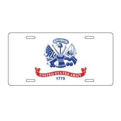 US Army License Plate, LPARMY