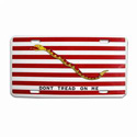 First Navy Jack License Plate, LPNAVYJACK