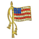 USA Waving Flag Pin, LSP942