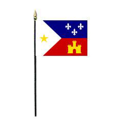 Acadiana Miniature Flag, MACAD46