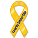 Keep My Soldier Safe ribbon magnet, MAGKSS0050