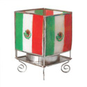 Mexico Flag Votive Holder, MAKMEXIS