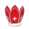 Switzerland Flag Votive Holder, MAKSWITT