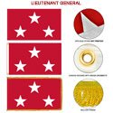 Marine Corps Lieutenant General Flags