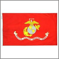 Marine Corps Outdoor Flags & Kits