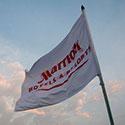 Custom flag for Marriott hotels