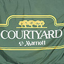 Custom flag for Courtyard hotels